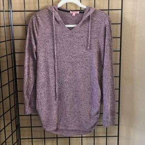 Feathers Women's Hooded Sweater